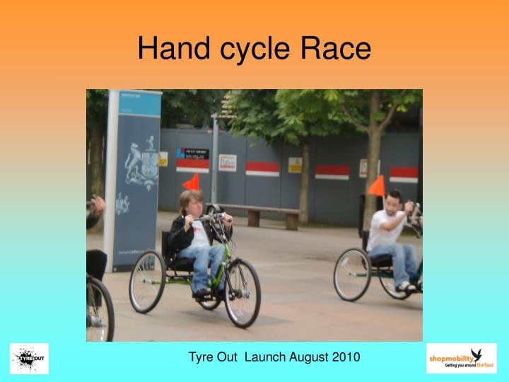 Hand cycle Race