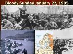 bloody sunday january 22 1905