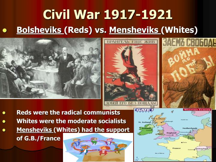 Civil War 1917-1921