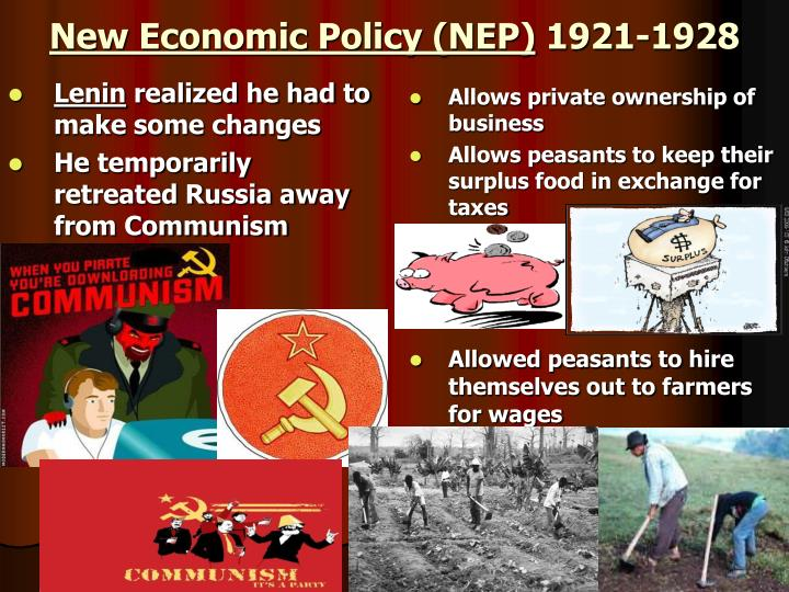 New Economic Policy (NEP)