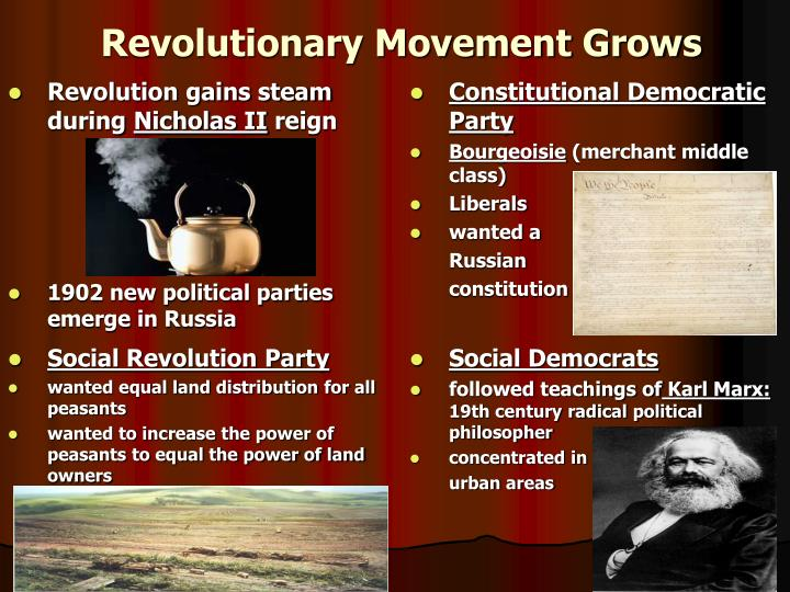Revolutionary Movement Grows