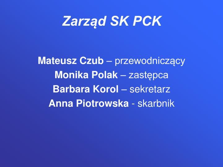 Zarząd SK PCK