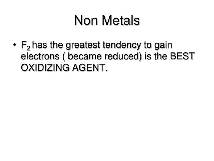 Non Metals