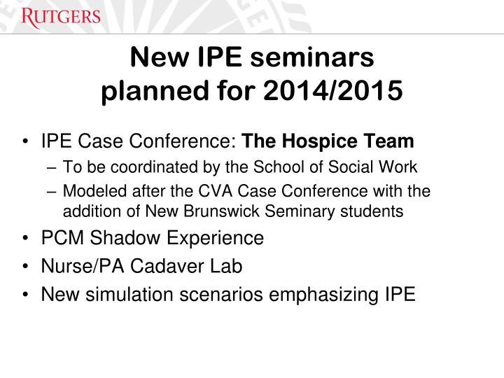 New IPE