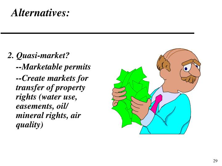 Alternatives: