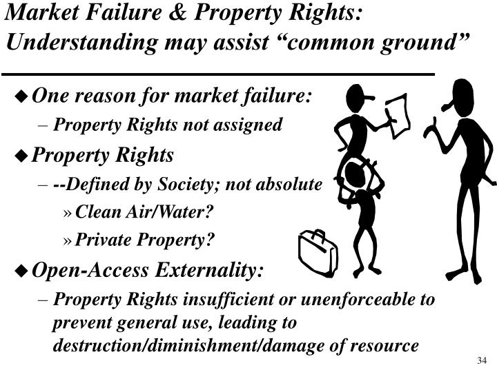 Market Failure & Property Rights: