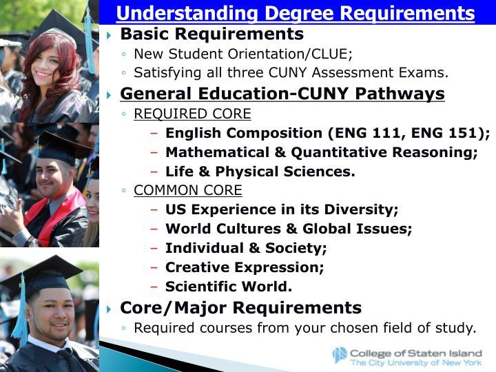 Understanding Degree Requirements