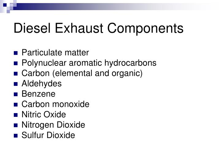Diesel Exhaust Components