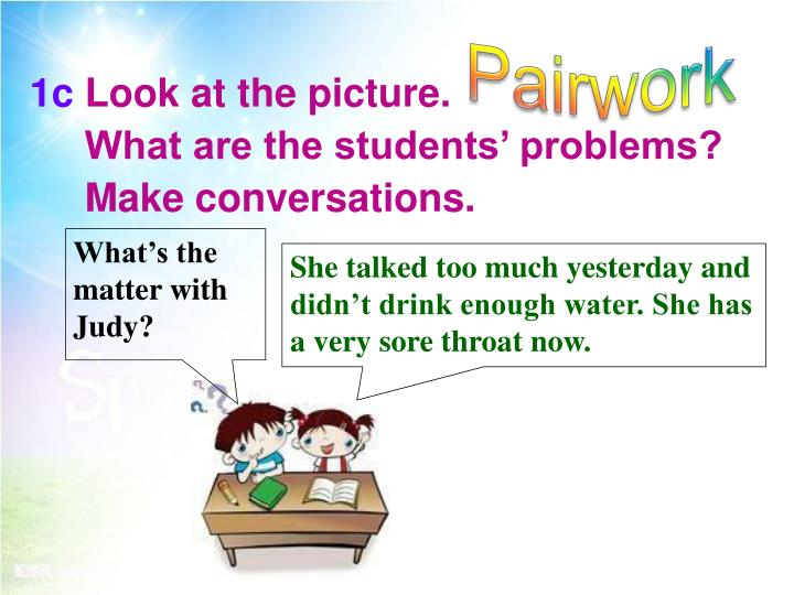 Pairwork