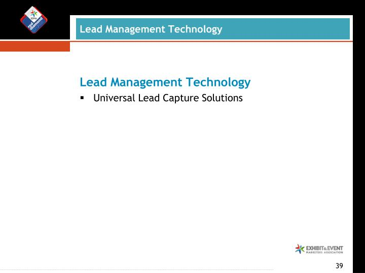 Lead Management Technology