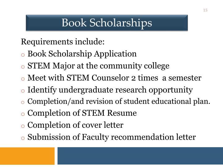 Book Scholarships