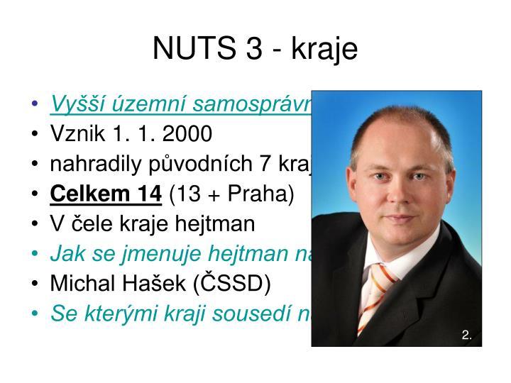 NUTS 3 - kraje