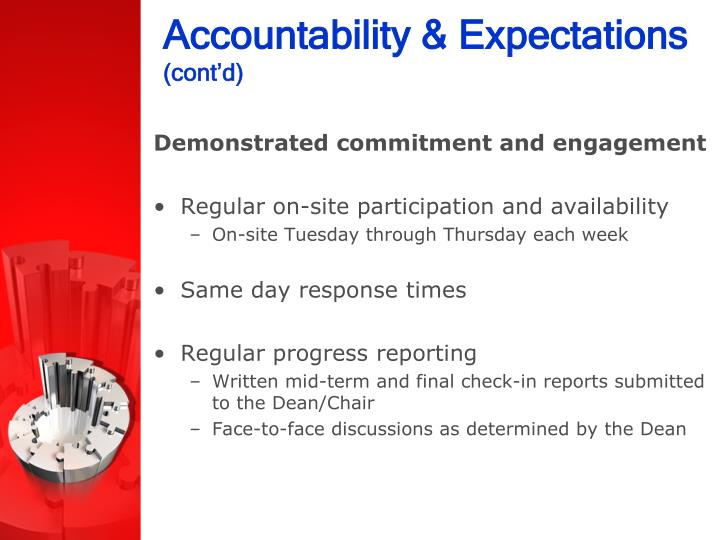 Accountability & Expectations