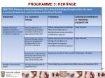 programme 5 heritage1