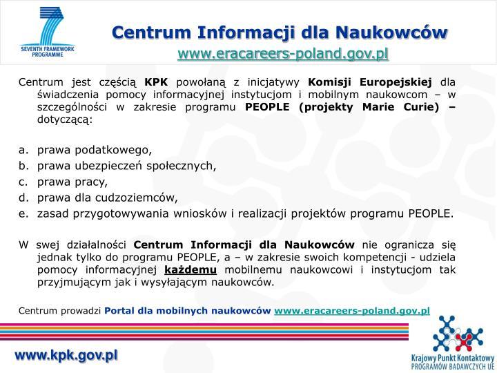 Centrum Informacji dla Naukowców