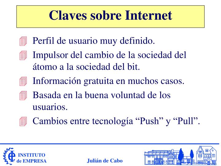 Claves sobre Internet