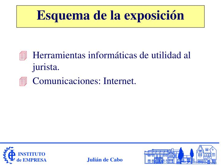 Herramientas informáticas de utilidad al jurista.