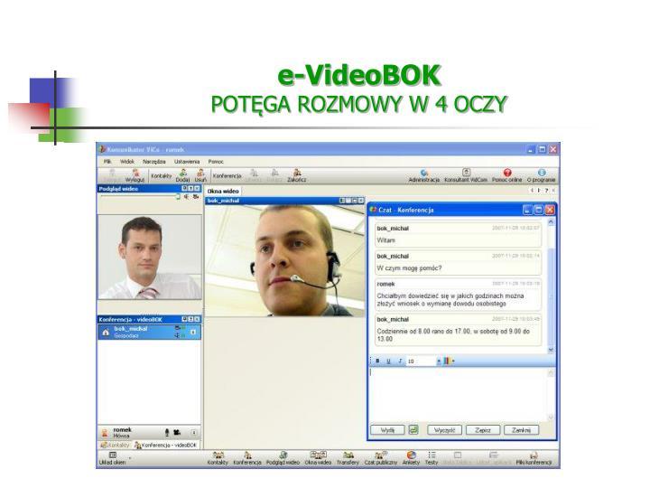 e-VideoBOK