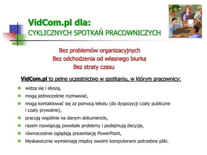 VidCom.pl dla: