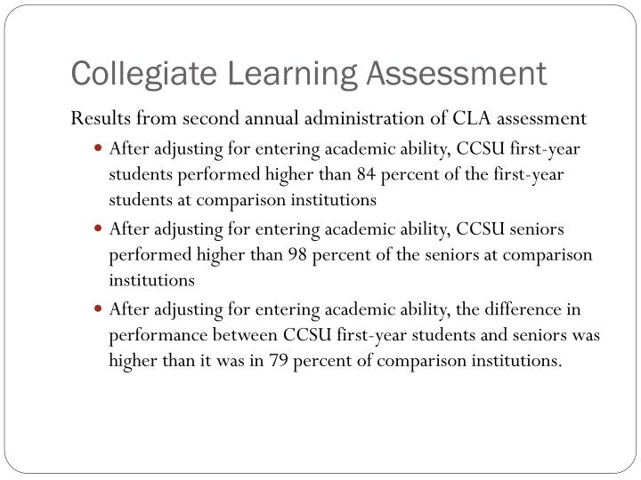 Collegiate Learning Assessment