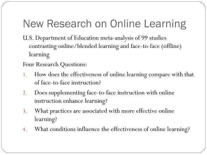 New Research on Online Learning