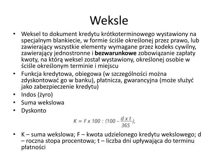 Weksle