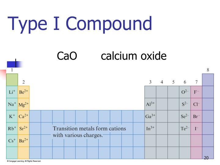 Type I Compound