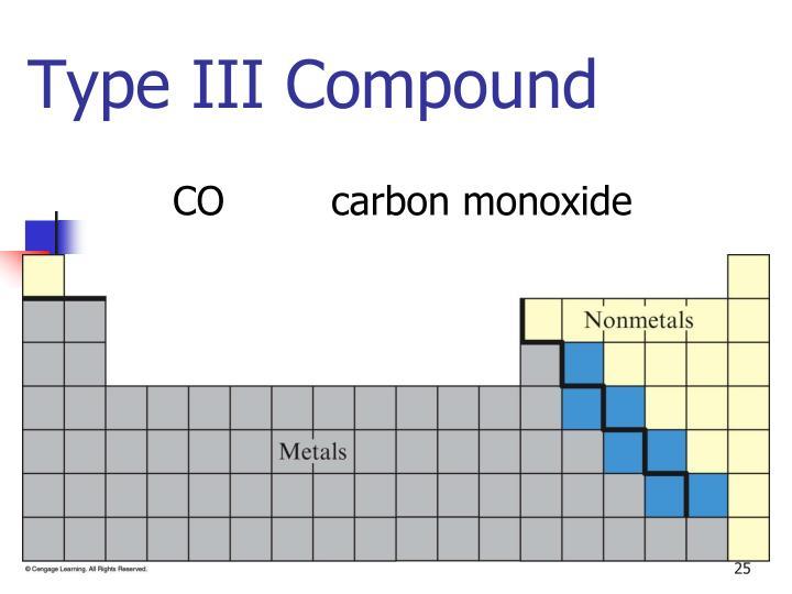 Type III Compound