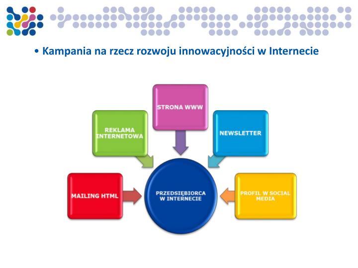 Kampania na rzecz rozwoju innowacyjności w Internecie