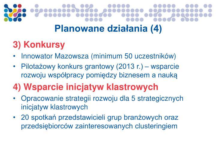 Planowane działania (4)