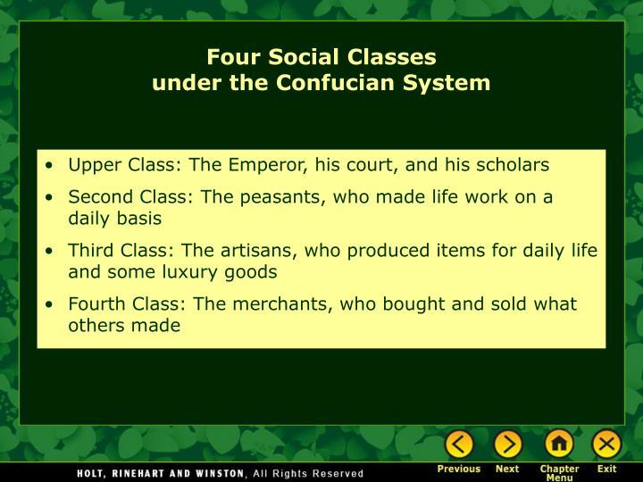 Four Social Classes