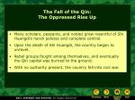 the fall of the qin the oppressed rise up