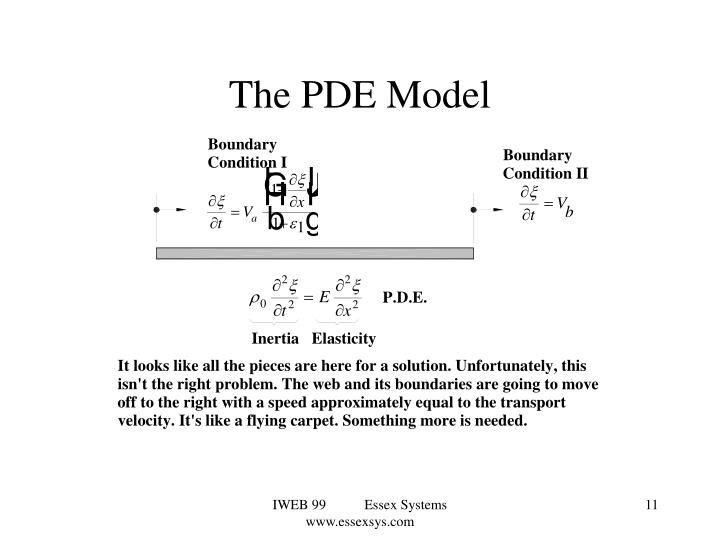 The PDE Model