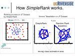 how simplerank works