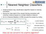 nearest neighbor classifiers1