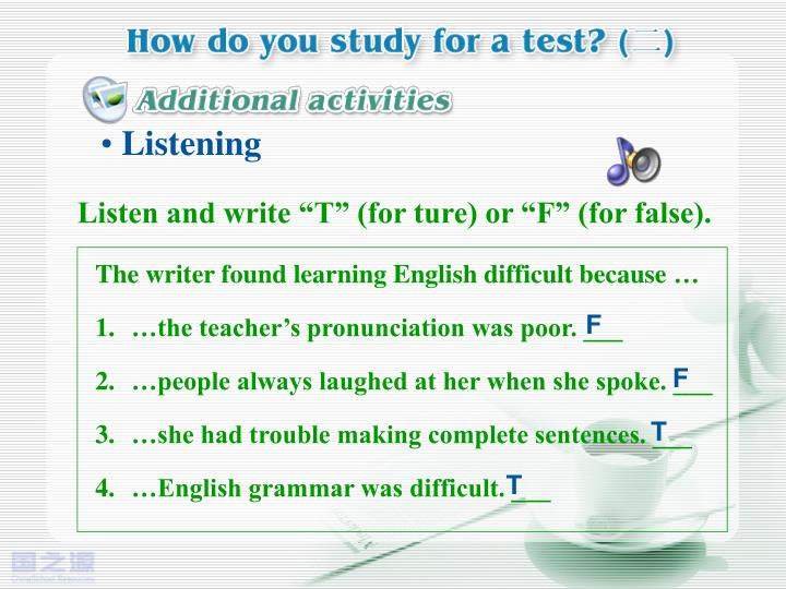 The writer found learning English difficult because
