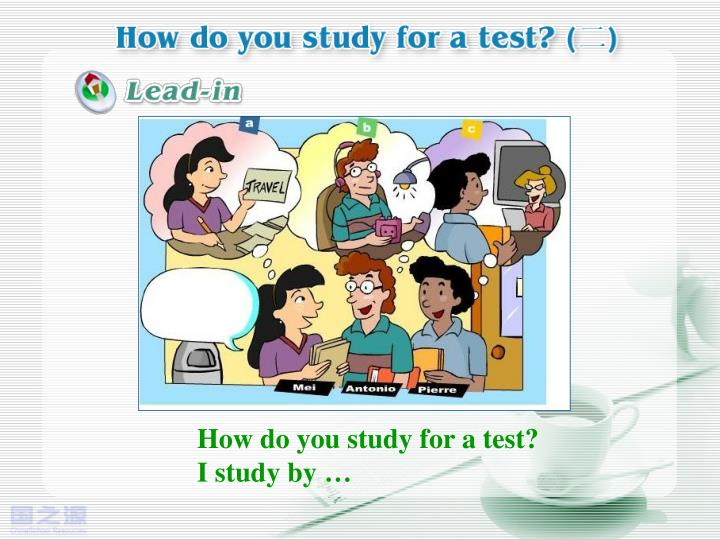 How do you study for a test?