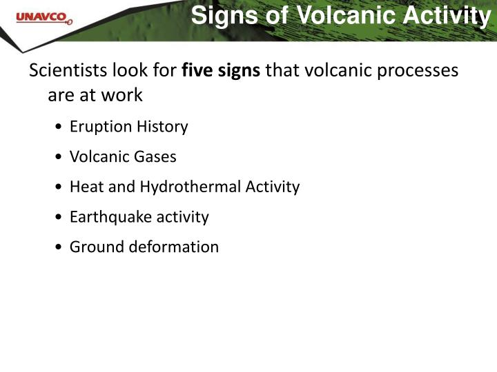 science of volcanic activity prediction essay How explosive a volcanic eruption is depends on how easily magma can flow or   volcanoes work and how their eruptions can be predicted is essential for the   scientists use the repose period, or the time between eruptions, to indicate the.