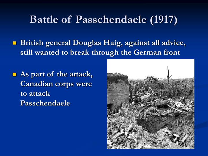 Battle of Passchendaele (1917)