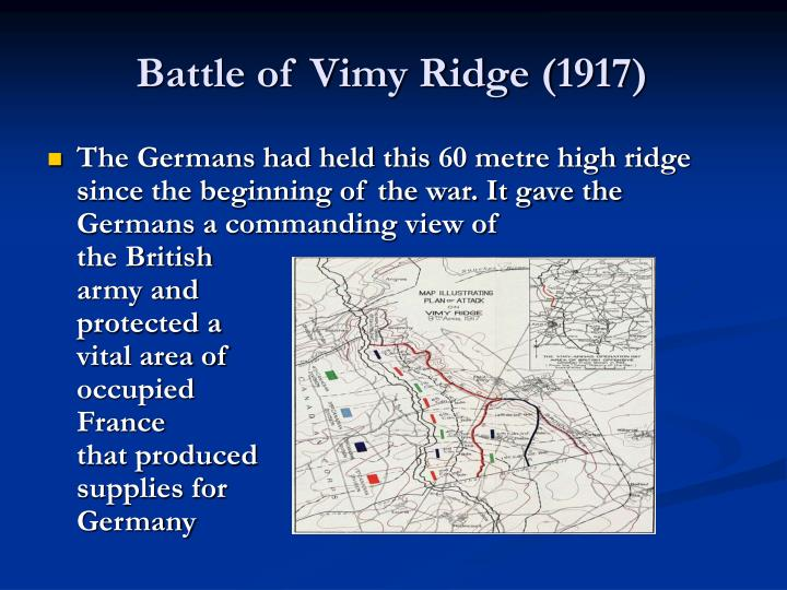 Battle of Vimy Ridge (1917)
