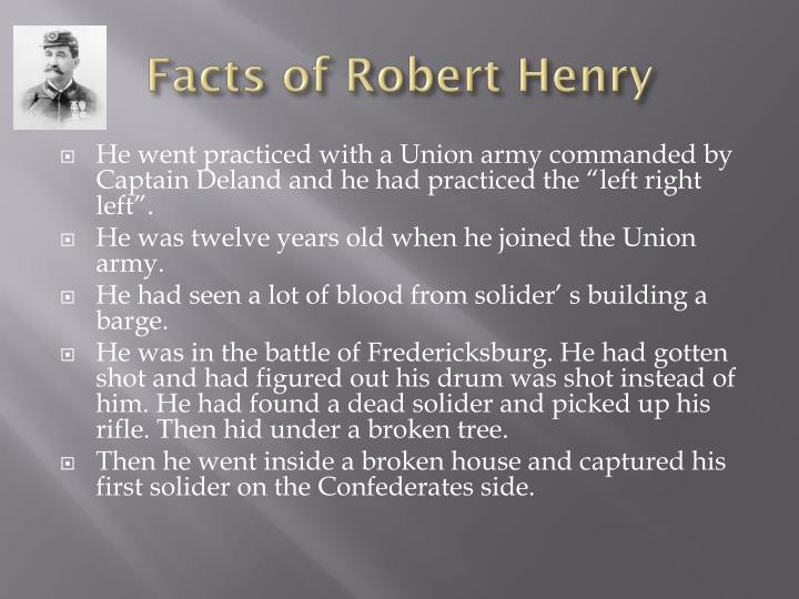 Facts of Robert Henry
