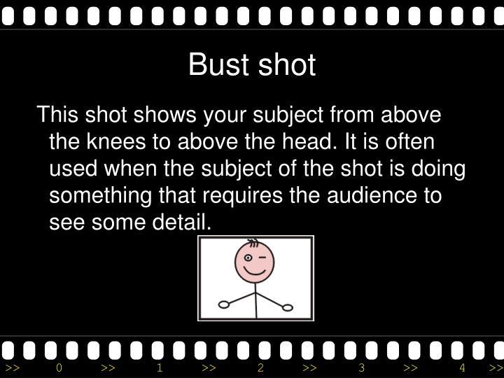 Bust shot