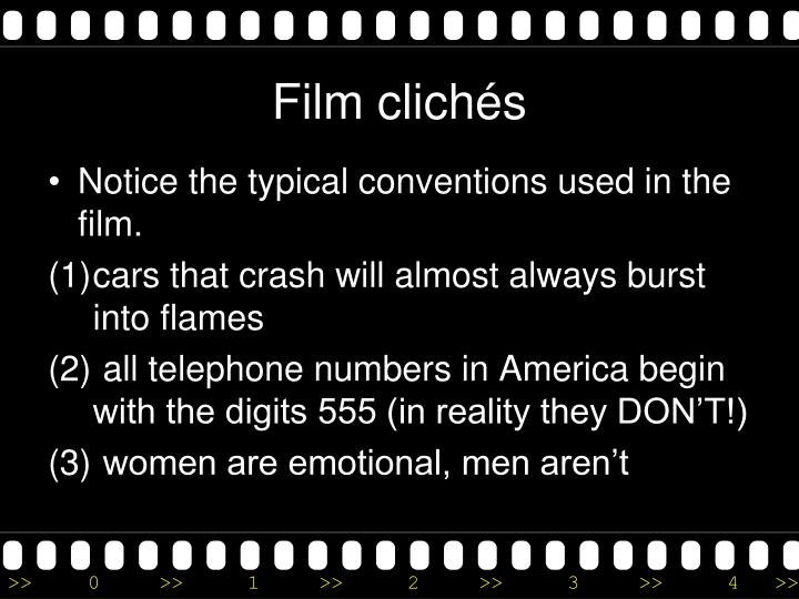 Film clichés