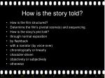how is the story told