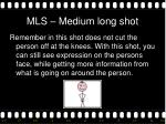 mls medium long shot