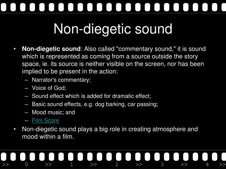 Non-diegetic sound