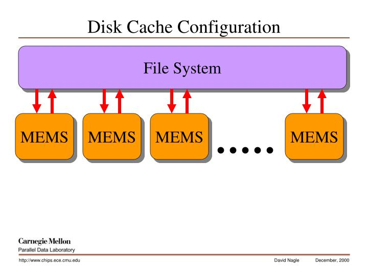 Disk Cache Configuration