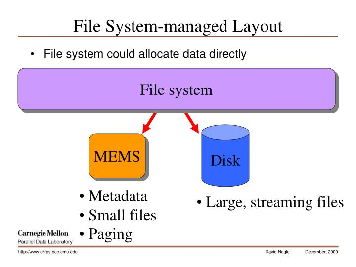 File System-managed Layout