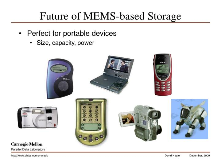 Future of MEMS-based Storage