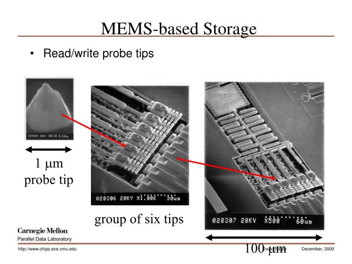 MEMS-based Storage
